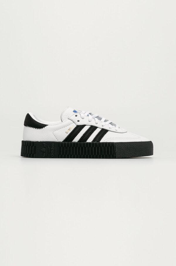 adidas Originals - Buty skórzane Sambarose W