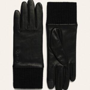 Calvin Klein - Rękawiczki skórzane
