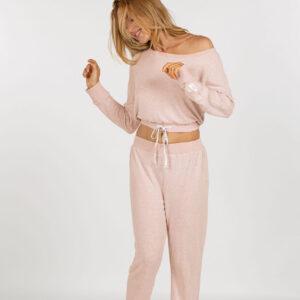 Dorina - Spodnie piżamowe Cloud